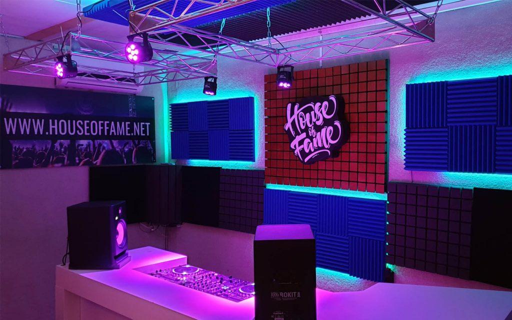 house of fame dj school studio